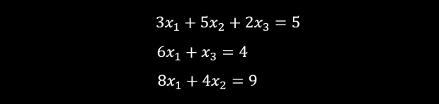 list of simple equations