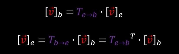 basis transformation and inverse basis transformation